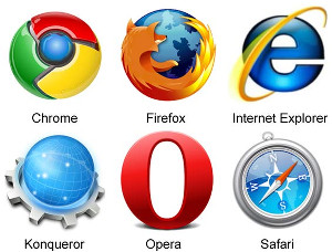 logo for Google Chrome browser