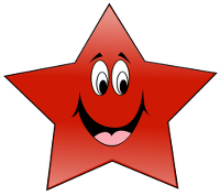 picture of cartoon star